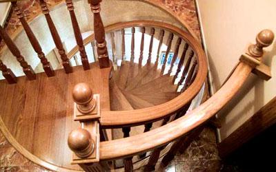 Escaleras de caracol y helicoidales