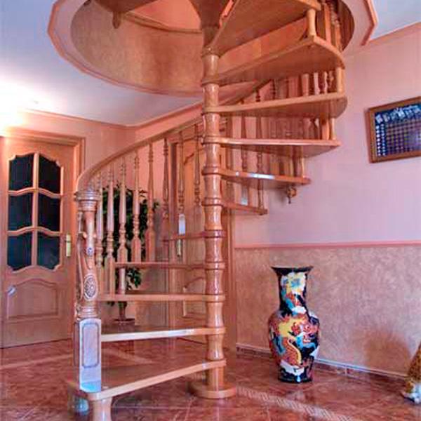 Escalera caracol de madera with escalera caracol de madera trendy escalera cuadrada en espiral - Escaleras de caracol economicas ...