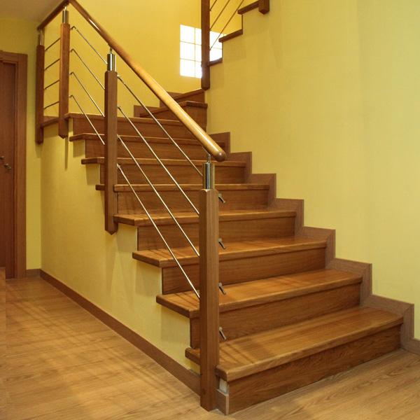Modelos de pasamanos de escaleras imagui for Modelos de gradas de madera
