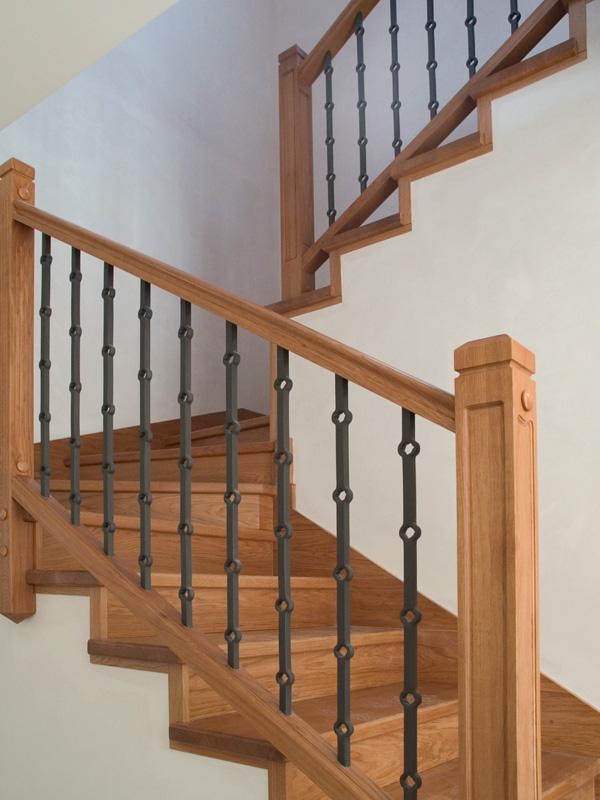 Torneados fuentespalda barandillas y escaleras de madera - Barandillas de escaleras interiores ...