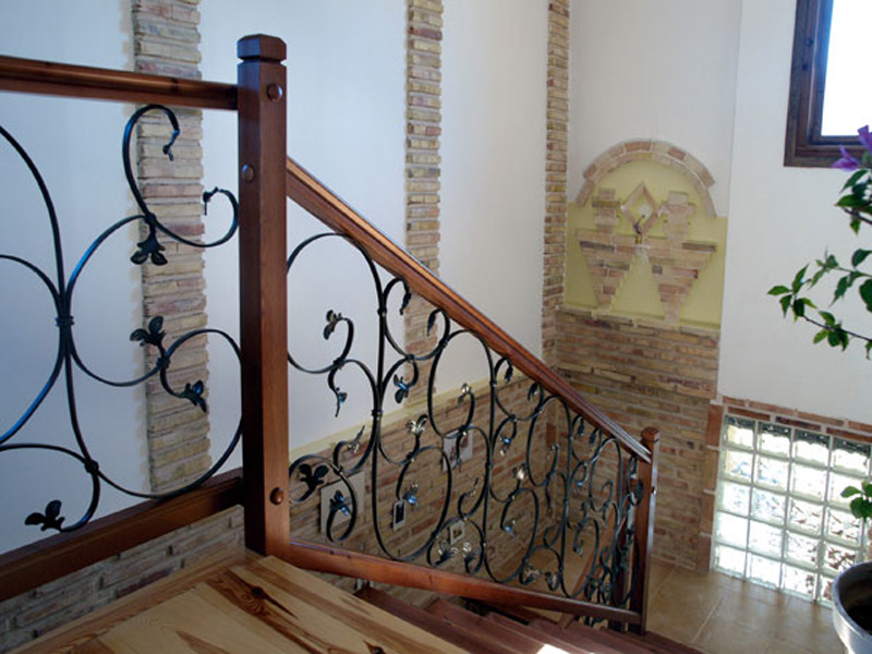 Rejas de diseo en forja y hierro forjado para ventanas - Rejas de madera ...