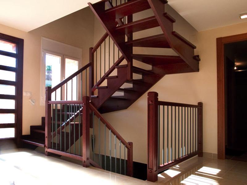 Escaleras de hierro y madera para interiores awesome with escaleras de caracol de madera para - Escaleras de hierro y madera para interiores ...