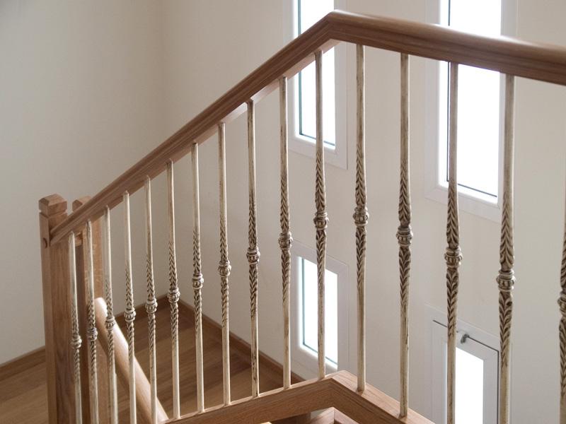 Torneados fuentespalda barandillas y escaleras de madera forja hierro acero inoxidable y - Barandas de forja para escaleras ...
