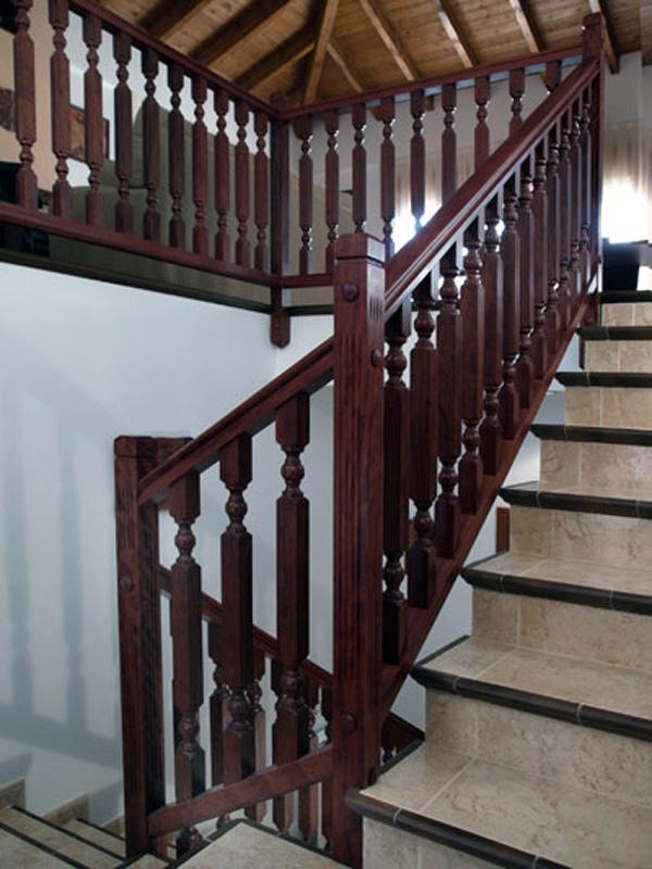 Torneados fuentespalda barandillas y escaleras de madera - Barandillas de madera para exterior ...