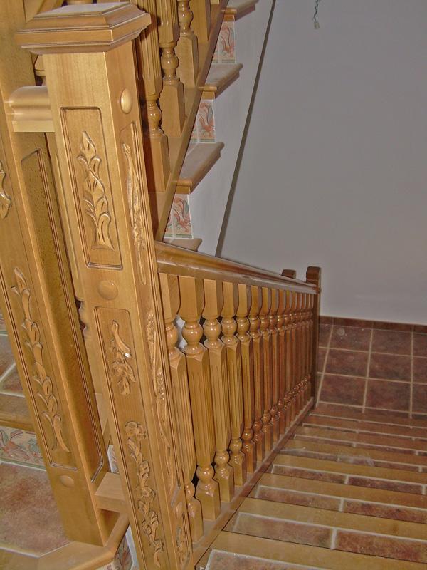 Barandas escaleras modernas best explora barandas - Pasamanos de madera modernos ...