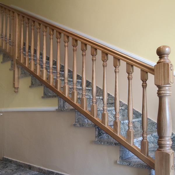 Torneados fuentespalda barandillas y escaleras de madera - Escaleras escamoteables baratas ...