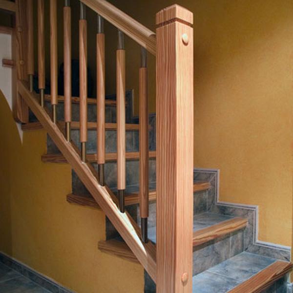 Barandas de madera para escaleras beautiful fabulous - Baranda de madera ...