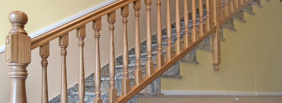 Barandas de madera materiales de construcci n para la reparaci n - Barandas de madera para escaleras ...