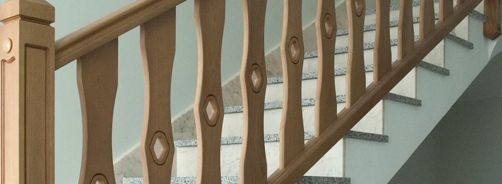 Escaleras de madera rusticas interesting su baranda de - Escaleras rusticas de madera ...
