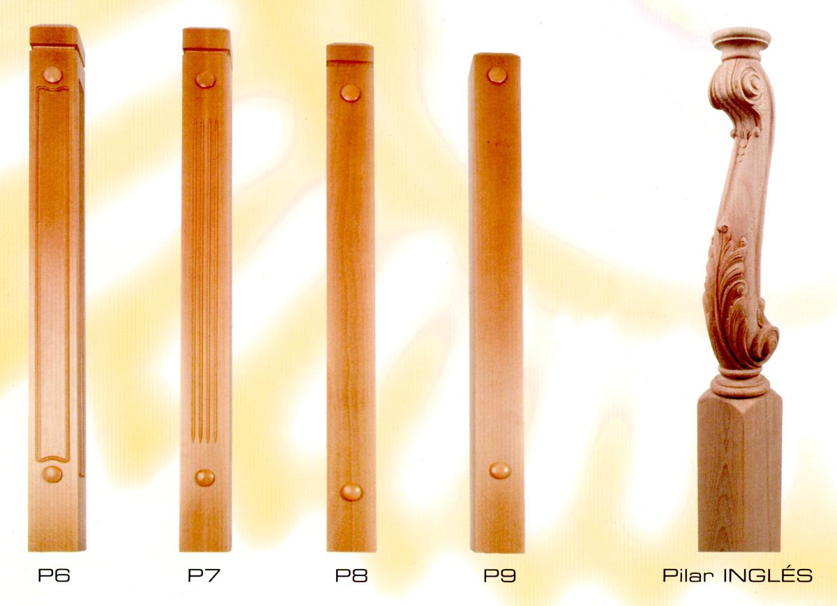 Muestras de pilares