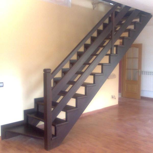 Barandillas de madera baratas puerta de seguridad de for Escaleras para exteriores de madera